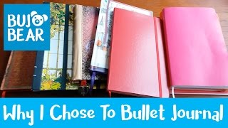 why i chose to bullet journal   bujo bear
