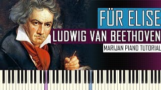 How To Play: Für Elise - Ludwig van Beethoven | Piano Tutorial