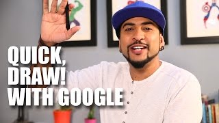 Quick Draw! With Google | Mad Stuff With Rob