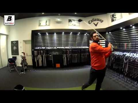 Trying the Callaway XR Driver | European Performance Centre