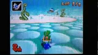 Mario kart DS ~ Huge Blue Shell EXPLOSIONS!
