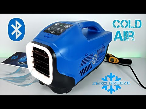 Zero Breeze - A Real Portable Air Conditioner - Tested In HOT Weather!