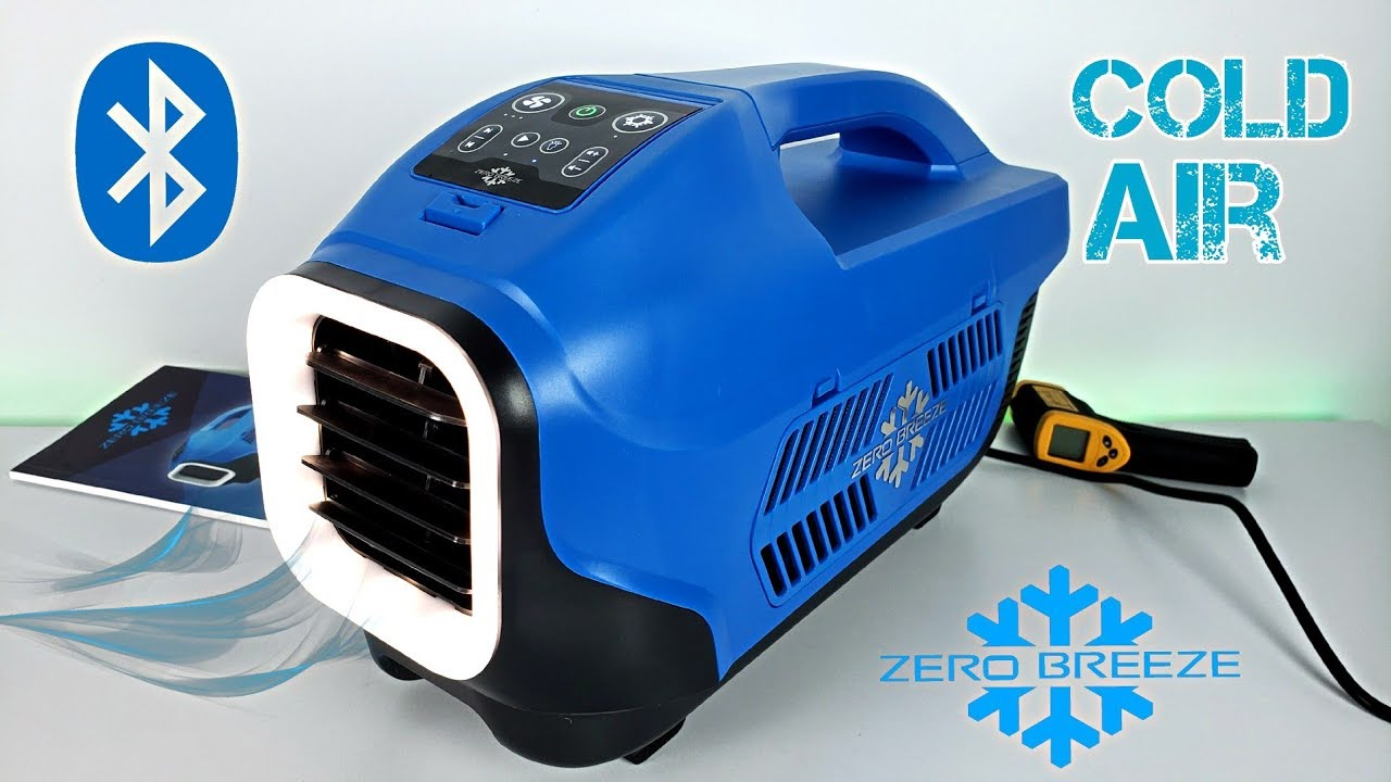 Zero Breeze A Real Portable Air Conditioner Tested In Hot Weather Youtube