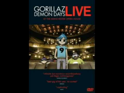 Gorillaz - November Has Come (Live at Manchester Opera House)