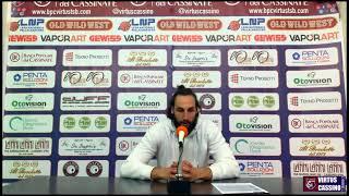 🎙Kevin Cusenza: Post-partita BPC Virtus Cassino - Taranto
