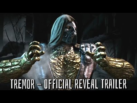 TREMOR Official Trailer - Reveal Gameplay - Mortal Kombat X ~ HD ~ EVO 2015