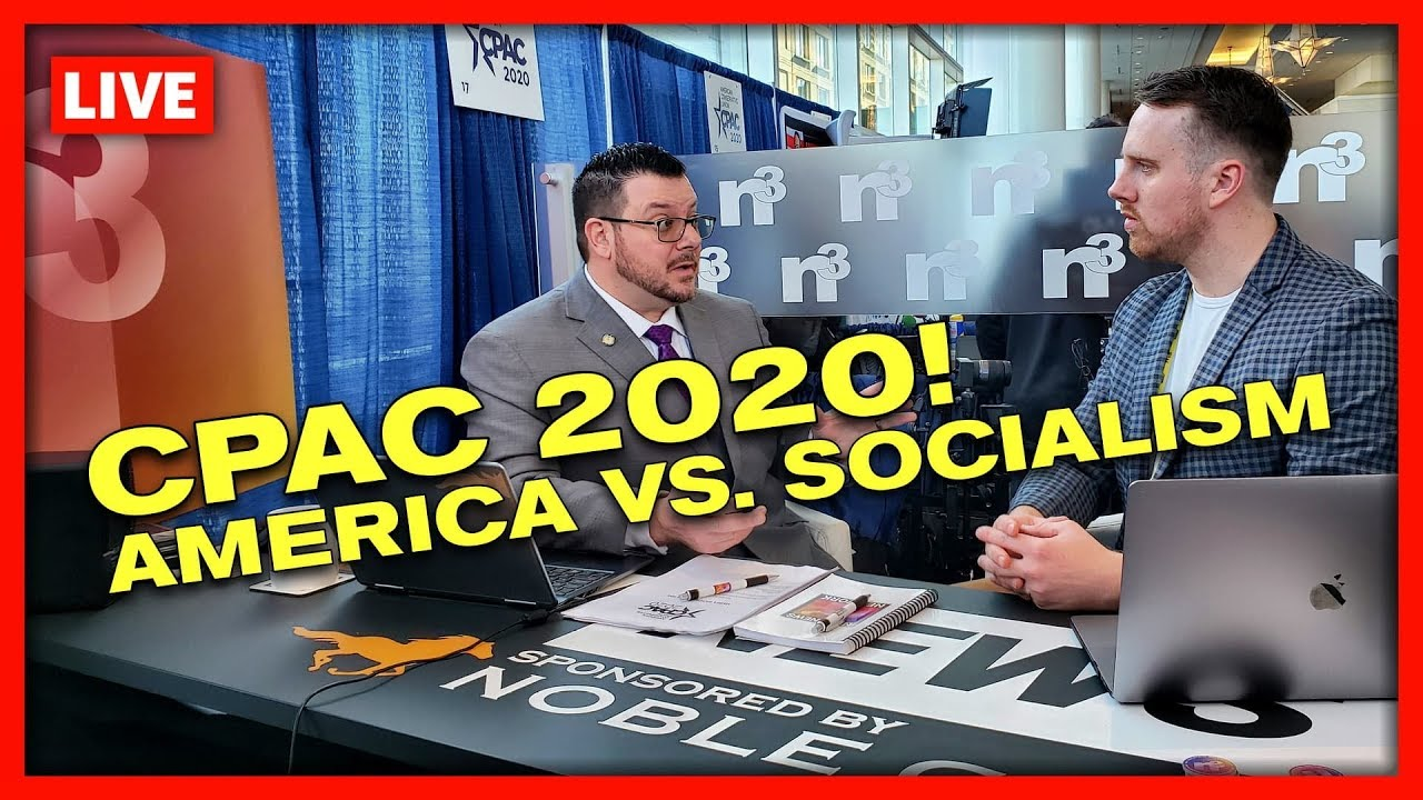 SPECIAL LIVE BROADCAST DAY 1 - #CPAC2020