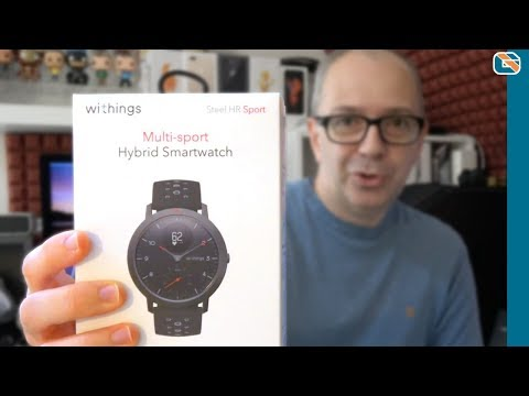 Withings Steel HR Sport Multisport Hybrid Smartwatch Exclusive Review