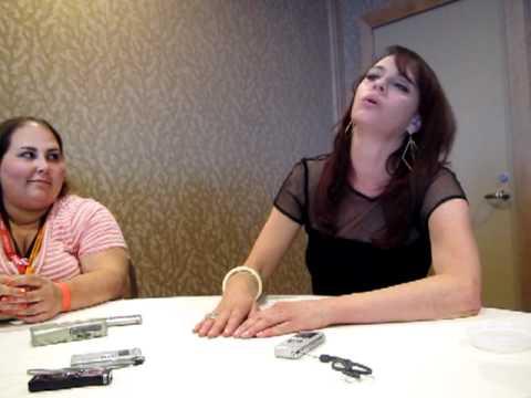 Nikita's Melinda Clarke  Comic Con 2012