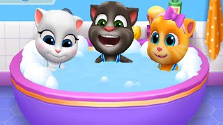 My Talking Tom Friends (by Outfit7) Gameplay Walkthrough - Part 12 (ios,Android)