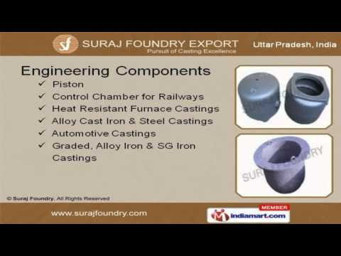 Engineering Components by Suraj Foundry (Export), Agra