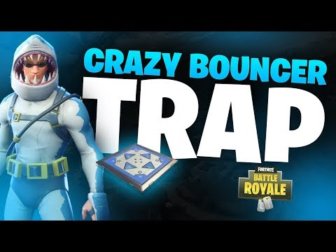 Crazy BOUNCER TRAP in FORTNITE! (Fortnite Funny Moments & Plays)