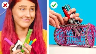 Repurpose! And Create DIY School Supplies and Crafts