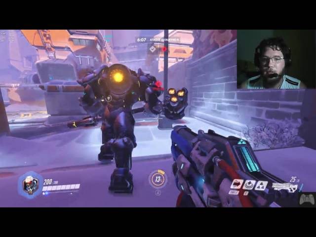 Overwatch gameplay no PC