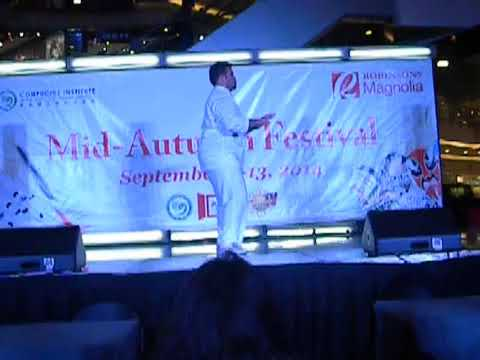 JAN PABLO AND THE GOLDEN TIGER PERFORMS WUSHU - 2014 MID-AUTUMN FESTIVAL