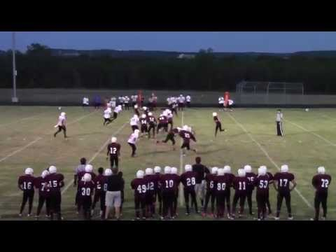 Marvin Young, Jr. Reagan Middle School Football 2014 2