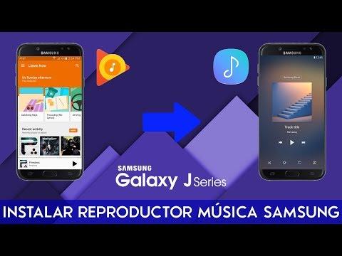 Como instalar el reproductor de Música de Samsung | Andro UY