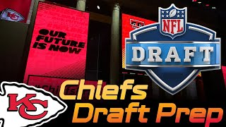 Chiefs Draft Prep fires up! Targets and Rumors Q&A| Kansas City Chiefs 2019 NFL