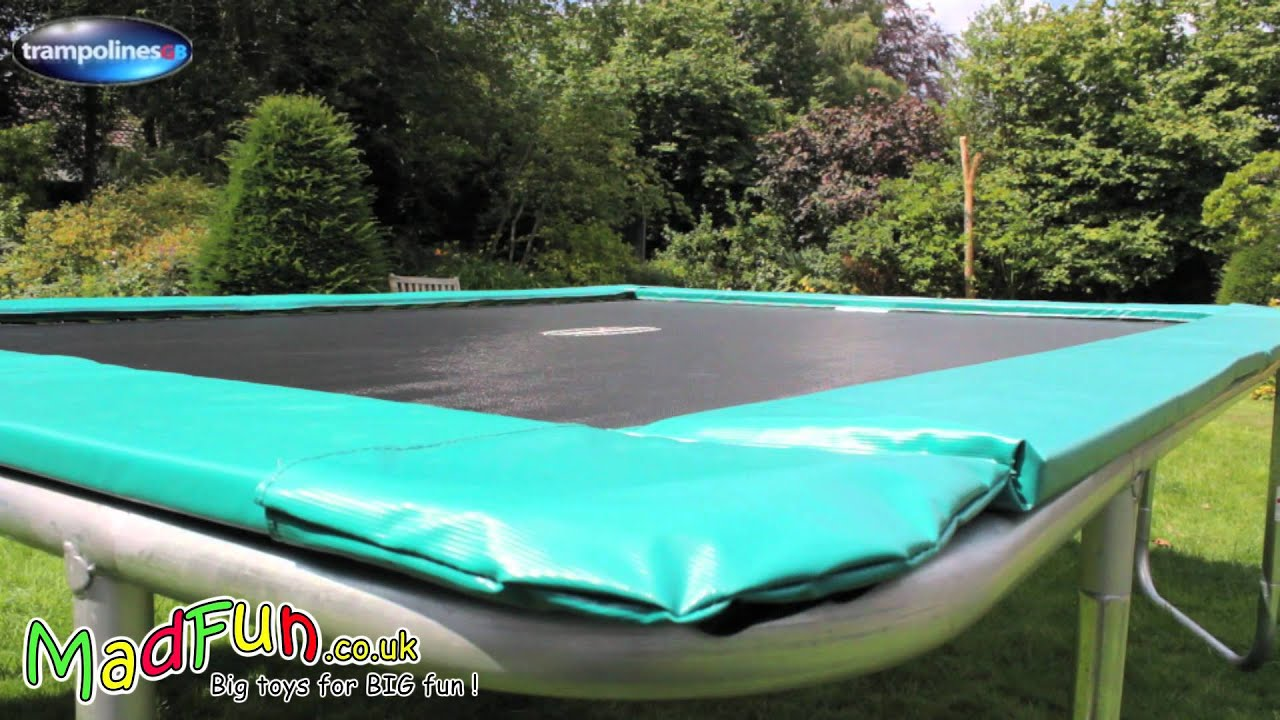 trampolinesgb rectangular trampolines youtube. Black Bedroom Furniture Sets. Home Design Ideas