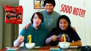 BURNING HOT FIRE NOODLES!!!! | Samyang Noodles