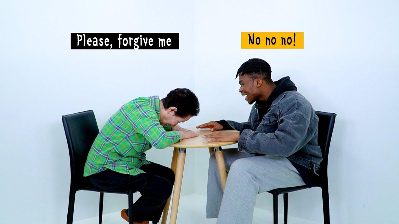 Download Korean Grandma Meets a Black Person