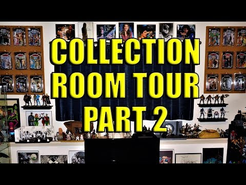 Collection Room Tour Part 2 and Planet Comic-Con Haul