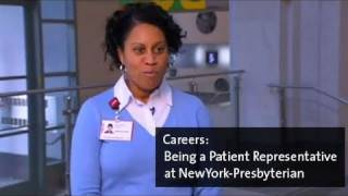 Being a Patient Representative at NewYork-Presbyterian