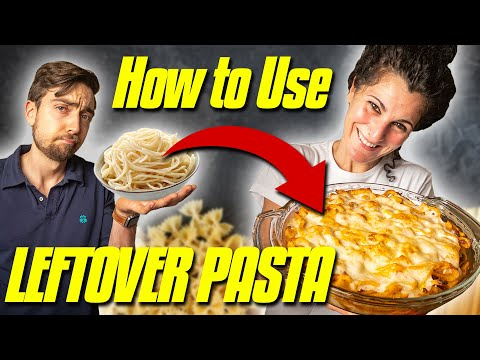 How To Use Leftover Pasta Like An Italian | 3 Leftover Pasta Recipes