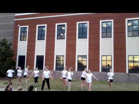 Bragg Middle School Jr. Rockettes