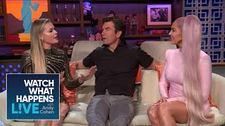 Erika Jayne, Rebecca Romijn And Jerry O'Connell On Denise Richards' Wedding | RHOBH | WWHL
