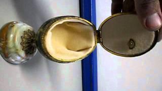 Splendid Egg Music Box Jewelry Case
