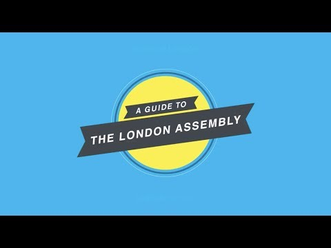 This is a guide to how the London Assembly works for you