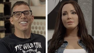 Steve-O Checks One More Off His Bucket List with Whitney Cummings' Robot
