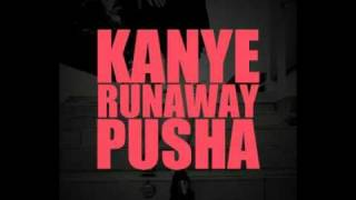 Kanye West - Runaway feat. Pusha T (Lyrics)