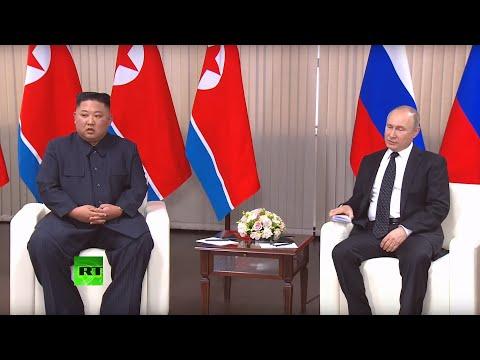 Беседа Владимира Путина