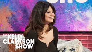 "Selena gomez gets candid with kelly clarkson, revealing that her latest album ""rare"" is most honest yet. shares how the really helped ..."