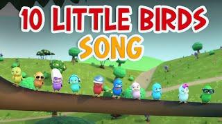 10 Little Birds Song + More 3D Children Songs - Nursery Rhymes for Kids