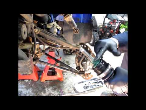 Yamaha 660 Grizzly Front Axle Replacement Part 1