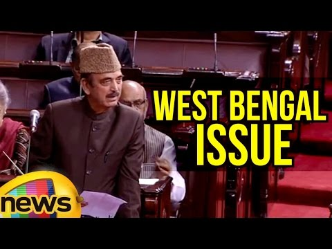 Ghulam Nabi Azad Seeks Clarification Over West Bengal Issue By PM Modi | Rajya Sabha | Mango News