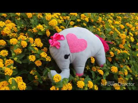 How To Make A Pillow Elephant – DIY Home Tutrial مخدة فيل