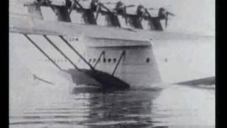 Historische Aufnahmen der Dornier Do X