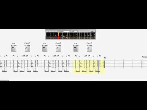Guitar Chord Practice Dido Thank You Slow - YouTube