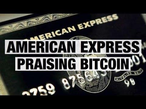 American Express Praising Bitcoin - Accidentally