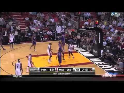 Joel Anthony Epic Fail Airball Layup vs. Phoenix Suns