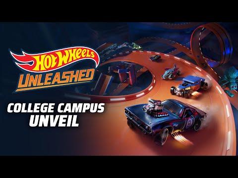 Новый геймплей Hot Wheels Unleashed в локации колледжа