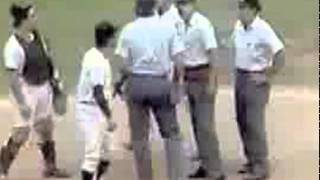 "The Kansas City Royals and New York Yankees play the infamous ""Pine Tar Game."""