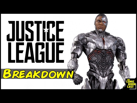 Cyborg Justice League Armor Breakdown & Details