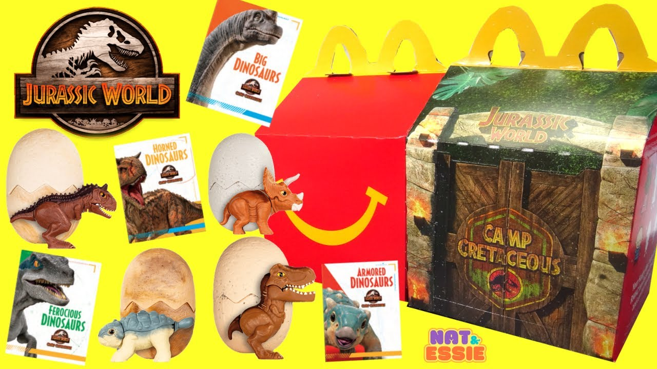 Download Jurassic World Camp Cretaceous McDonalds Happy Meal 2020 Full Set