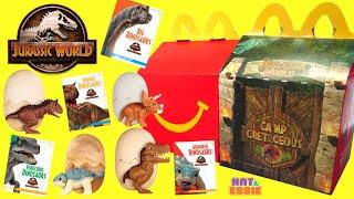 Jurassic World Camp Cretaceous McDonalds Happy Meal 2020 Full Set