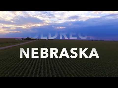 Holdrege Nebraska quick Drone Footage